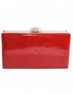 Poseta dama, textil, marca Meralli, Cod 2-5, culoare rosu