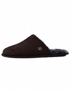 Papuci de casa barbati, textil, marca Gioseppo, Cod 26872Beaver-marron-2, culoare maro