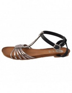 Sandale dama, piele naturala, marca Gioseppo, Cod 27531-18, culoare argintiu