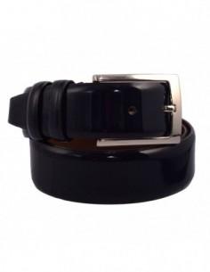 Curea barbati, piele naturala, marca Bond, Cod 2800-42, culoare bleumarin