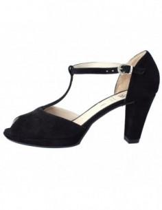 Sandale dama, piele naturala, marca Caprice, Cod 28322-1, culoare negru