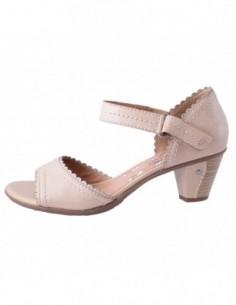 Sandale dama, piele naturala, marca Jana, Cod 28322-3, culoare bej