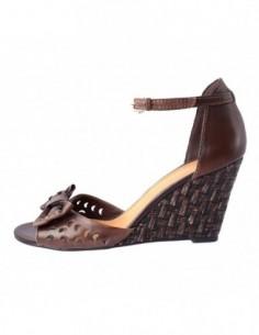 Sandale dama, piele naturala, marca Marco Tozzi, Cod 28384-2, culoare maro