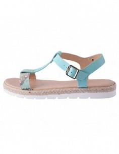 Sandale dama, piele naturala, marca Marco Tozzi, Cod 28620-7, culoare albastru