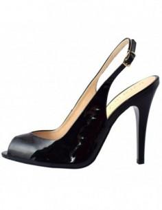 Sandale dama, din piele naturala, marca Badura, 3051-69-PN-1, negru