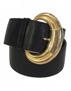 Curea barbati, piele naturala, marca Bond, Cod 3115-1, culoare negru