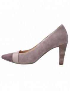 Pantofi dama, din piele naturala, marca Gabor, 4128310-3, bej