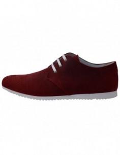 Pantofi barbati, piele naturala, marca Conhpol, Cod 1234S-05-40, culoare rosu