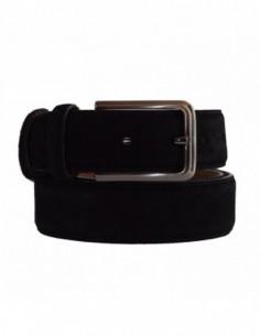 Curea barbati, piele naturala, marca Bond, Cod 501-1, culoare negru