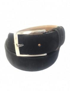 Curea barbati, piele naturala, marca Bond, Cod 5011-1, culoare negru