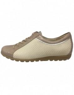 Pantofi dama, piele naturala, marca Waldlaufer, Cod 531016-3, culoare bej