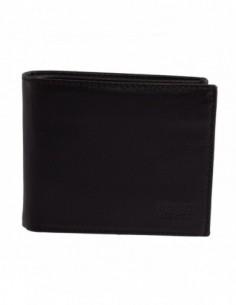 Portofel barbati, piele naturala, marca Bond, Cod 567-1, culoare negru