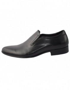 Pantofi barbati, piele naturala, marca Saccio, Cod 626304-1, culoare negru