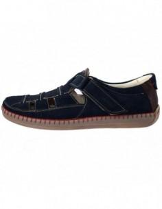 Pantofi barbati, piele naturala, marca Badura, Cod 6272-42, culoare bleumarin