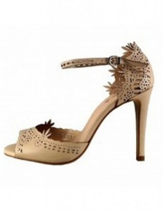 Sandale dama, piele naturala, marca Epica, Cod 687344-03-92, culoare natur