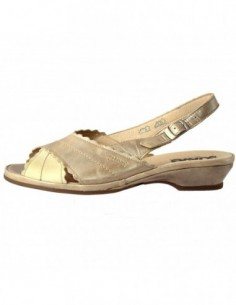 Sandale dama, piele naturala, marca Suave, Cod 817-3, culoare bej