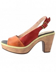 Sandale dama, din piele naturala, marca Pikolinos, 8839610-11, orange