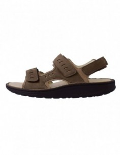 Sandale barbati, piele naturala, marca Waldlaufer, Cod 484001-03-04, culoare bej