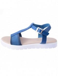 Sandale dama, piele naturala, marca Johnny, Cod 9538-42, culoare bleumarin