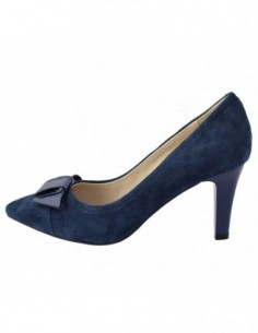 Pantofi dama, din piele naturala, marca Epica, AJ3G385-7, albastru