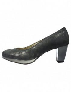 Pantofi dama, din piele naturala, marca Ara, AR23402-13-14, gri