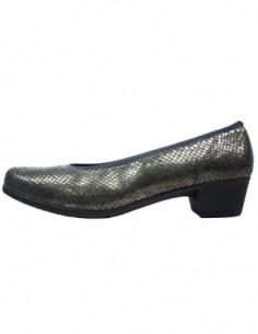 Pantofi dama, piele naturala, marca Ara, Cod AR46136-12-51, culoare gri inchis