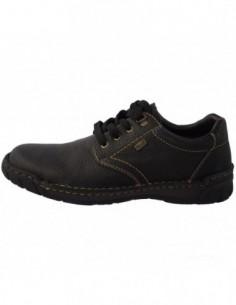 Pantofi barbati, piele naturala, marca Rieker, Cod B0300-00-1, culoare negru