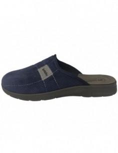 Papuci de casa barbati, textil, marca Inblu, Cod BG14-004BLU-42, culoare bleumarin