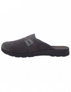 Papuci de casa barbati, textil, marca Inblu, Cod BG14-025GRI-14, culoare gri