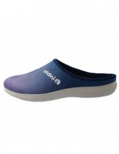 Papuci de casa dama, textil, marca Inblu, Cod BS29-004BLU-42, culoare bleumarin
