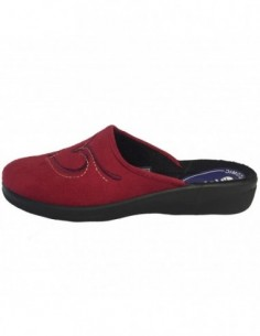 Papuci de casa dama, textil, marca Inblu, Cod CA-86-E8, culoare visiniu