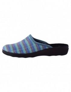 Papuc de casa dama, textil, marca Inblu, Cod CA91-004-BLU-42, culoare bleumarin