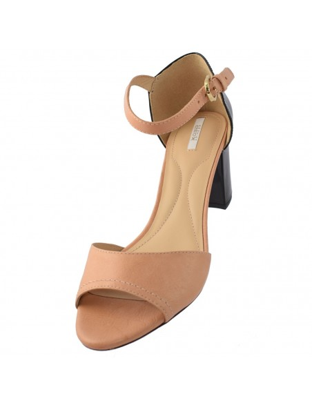 Sandale Walk in the City din piele naturală bleu 9371