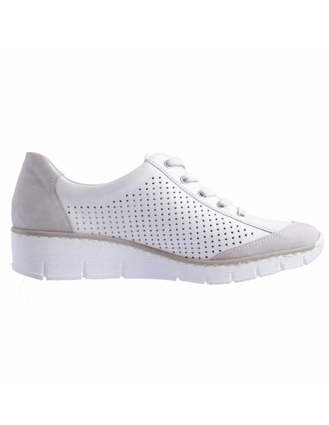 vânzări speciale vânzare ieftină pantofi eleganti Pantofi sport dama, piele naturala, marca Rieker, Cod 53717-