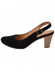 Pantofi dama, din piele naturala, marca Gabor, GB22290-3701-N-1, negru