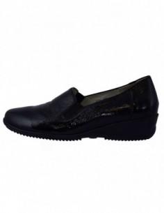 Pantofi dama, din piele naturala, marca Waldlaufer, 545509-01-04, negru