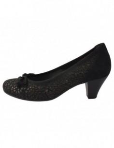 Pantofi dama, piele naturala, marca Gabor, Cod GB25483-1, culoare negru