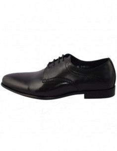 Pantofi barbati, piele naturala, marca Eldemas, Cod LCO185-1, culoare negru
