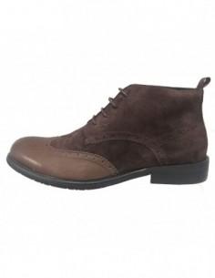 Pantofi barbati, din piele naturala, marca Eldemas, MXO331-2, maro