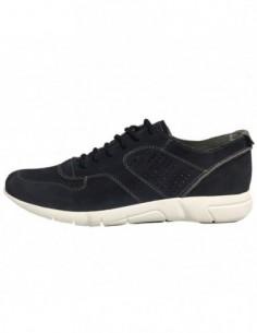Pantofi barbati, piele naturala, marca Geox, Cod U721PA-C4002-42, culoare bleumarin