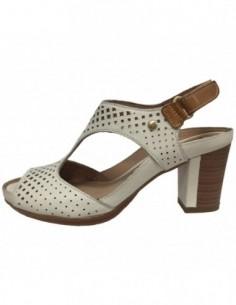 Sandale dama, piele naturala, marca Pikolinos, Cod W0K-0919-03-21, culoare alb satin
