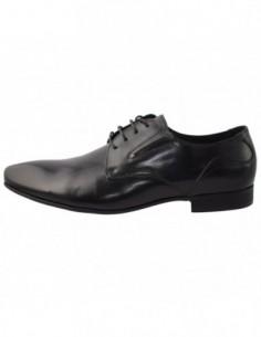 Pantofi barbati, piele naturala, marca Eldemas, Cod W1508-1, culoare negru