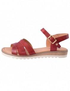 Sandale dama, piele naturala, marca Pikolinos, Cod W1l-0955-sandia-E8, culoare visiniu inchis