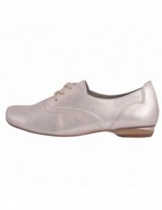 Pantofi dama, din piele naturala, marca Softwaves, 0-47071-2, bej