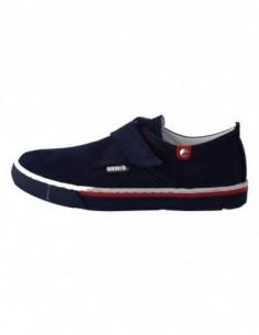 Pantofi copii, piele naturala, marca Hobby bimbo, Cod 13-42, culoare bleumarin