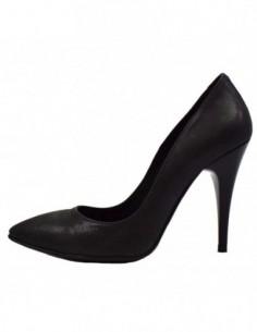 Pantofi dama, piele naturala, marca Perla, Cod 1404-1, culoare negru