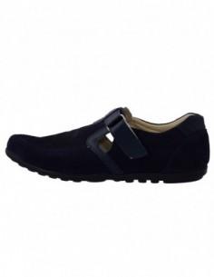 Pantofi copii, piele naturala, marca Hobby bimbo, Cod 20-42, culoare bleumarin