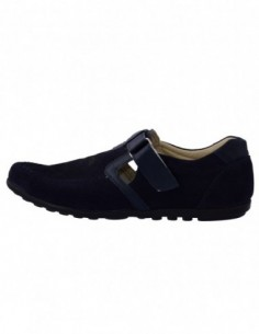 Pantofi copii, din piele naturala, marca Hobby bimbo, 20-42, bleumarin