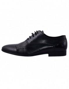 Pantofi eleganti barbati, piele naturala, marca Saccio, Cod 131310A-01-17, culoare negru