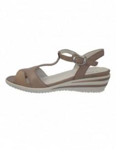 Sandale dama, piele naturala, marca Waldlaufer, Cod 216013-A2, culoare capuccino